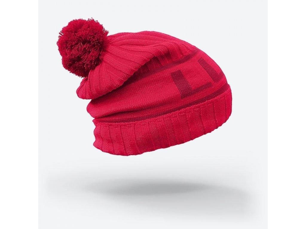 čepice červená